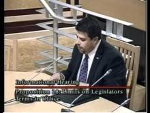 Fleischman Testifies Before Legislators On Prop. 28 -- JonSFleischman