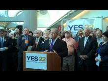 Long Beach Mayor Bob Foster on Prop. 22 -- Save Your City California