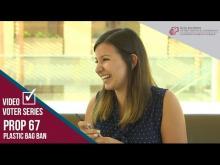 Claremont McKenna College Video Voter - Prop. 67: Plastic Bag Ban