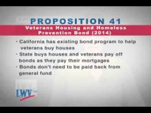 League of Women Voters of California Proposition 41 - Veterans Housing and Homeless Prevention Bond -- CalChannel
