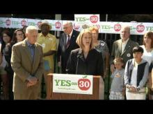 """CTA - """"Prop 30 is the right thing to do for our students."""" -- California Teachers Association"""