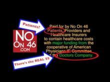 Debunking No on Prop 46 Radio Commercial