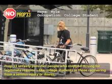 Prop 33 will unfairly surcharge students -- For Consumer Rights
