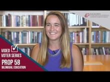 Claremont McKenna College Video Voter - Prop. 58: Bilingual Education