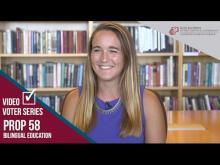 Claremont McKenna College Video Voter - Prop. 58: Bilingual Education
