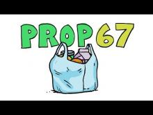 KCET Props in a Minute: Prop 67 - Ban on Plastic Bags
