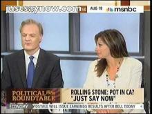 """Rolling Stone's Eric Bates on Just Say Now: """"This is the best organized campaign for legalization."""" -- Just Say Now"""