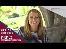 Claremont McKenna College Video Voter - Prop. 62: Death Penalty Abolition