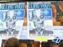 KGO TV-7 ABC San Francisco: Yes on Prop 45 Campaign Rolls Out Street Posters