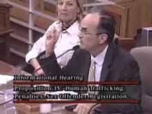 No On Prop 35-Stephen Munkelt of California Attorneys for Criminal Justice -- Maxine Doogan