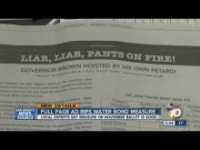 Full-page ad accuses new water bond of being watered down with 'pork'