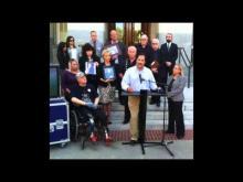 Sacramento Press Conference — Prop 46 — Legislative Hearing