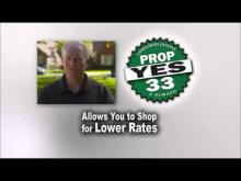 Darrell - Vote Yes on Prop 33 -- YES Prop. 33