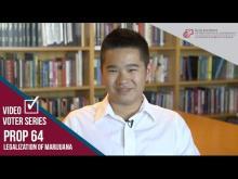 Claremont McKenna College Video Voter - Prop. 64: Legalization of Marijuana