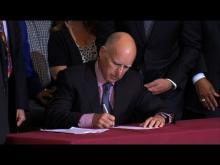 Governor Brown Signs Veteran Housing Bill in San Diego -- KPBS San Diego