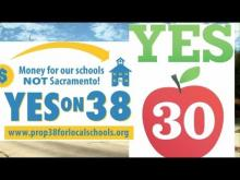 School Funding Choices in Props 30 & 38 -- KPBSSanDiego