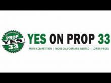 Support Military Families - Vote Yes on Prop 33 -- Yes on Prop. 33