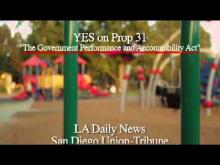 Delaine Eastin Speaks Out for Prop 31 -- Yes on 31